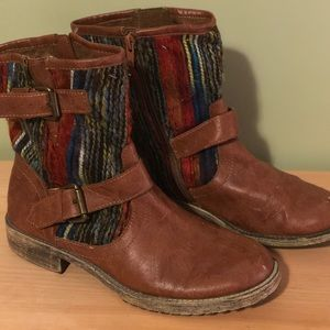 Ruff Hewn Chicory Ankle Boots